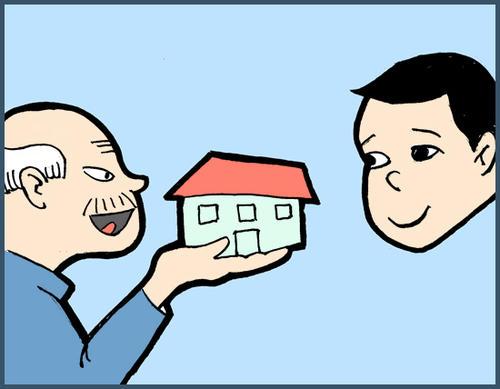 青岛房产:房产赠送与继承哪个好 继承公证要注意什么