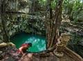 墨西哥天坑仙境 遇见古玛雅神明