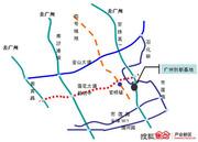 清华科技园广州创新基地交通图