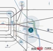 北京经开�q智汇园区位图