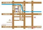 中关村虹桥创新园交通图