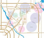 临空总部港交通图