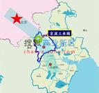 京滨工业园区位图