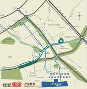 联东U谷・金桥产业园交通图