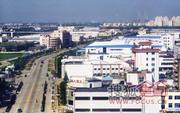 上海浦东康桥工业园区实景图