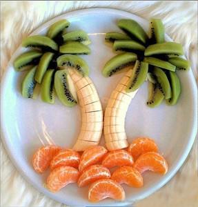 图:【转】创意水果拼盘---很简单又漂亮!