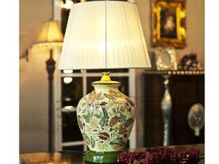 欧式田园陶瓷台灯