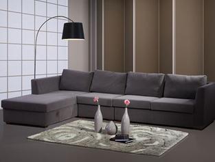 喜梦宝贵妃组合布艺沙发图片