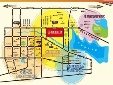 栖霞区街道划分地图