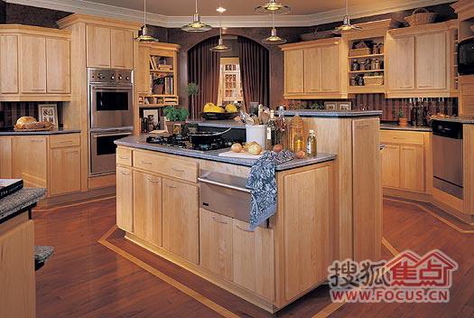 图:请欣赏各具特色的厨房装修图
