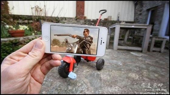 现实与电影只差一部手机:当场景电影乱入现实v现实珍珠江插曲电影图片