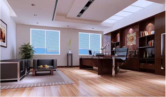 最实用的十款老总办公室背景墙装修设计效果图