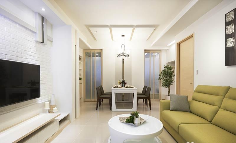 90平米舒適家 現代簡約風兩室一廳圖片
