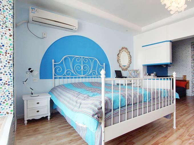 50平米单身公寓装修 地中海式你的家