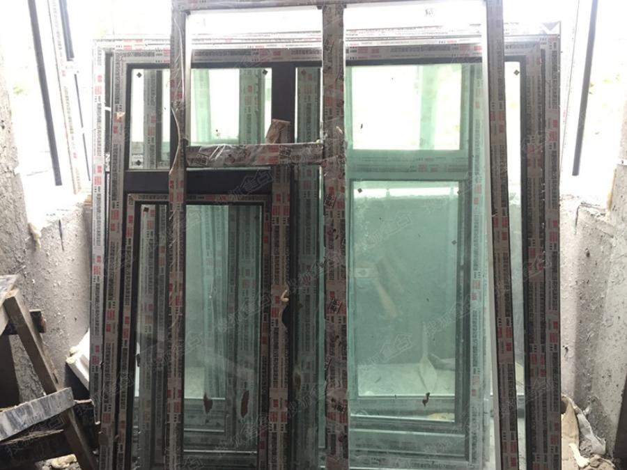 哈罗城即将安装窗扇的断桥铝窗框施工图(2016.9)
