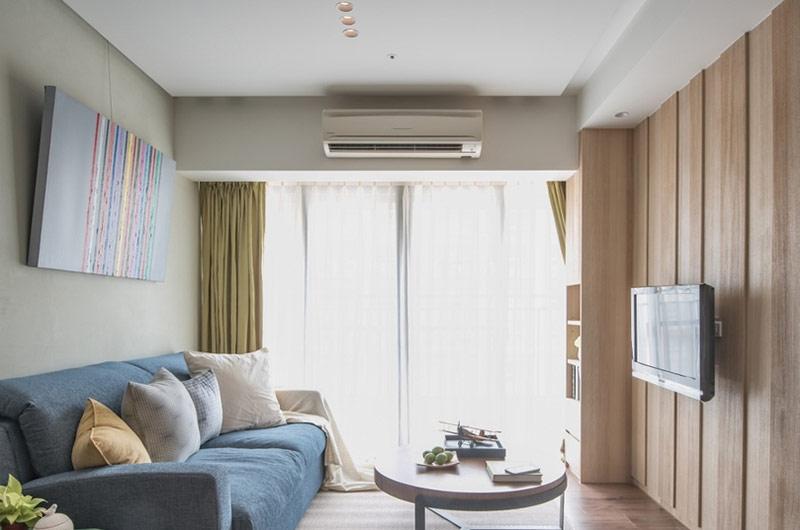 60平小户型日式风格两居室装修 温馨唯美高清图片