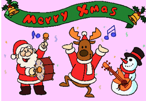 欢天喜地庆圣诞歌谱