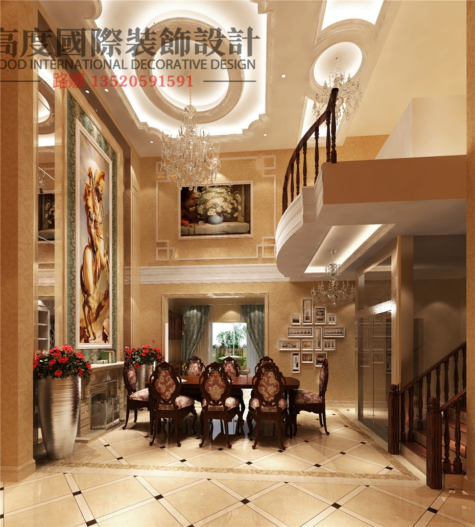 君山国际高尔夫别墅】400平米欧式独栋别墅给您带来!