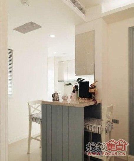 吧台装修 将厨房空间的气氛调动起来