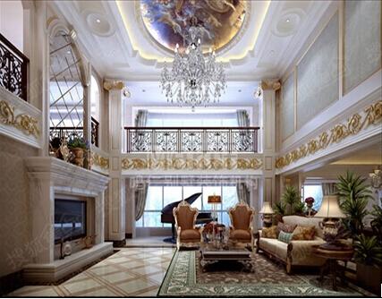 法式装修风格 打造浪漫风情别墅