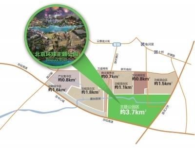 通州文化旅游区规划图