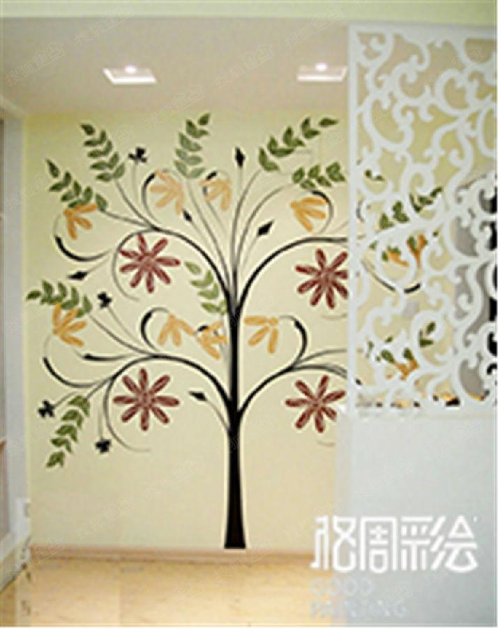 呼市墙体彩绘 主题酒店宾馆墙体彩绘 幼儿园墙体彩绘图片