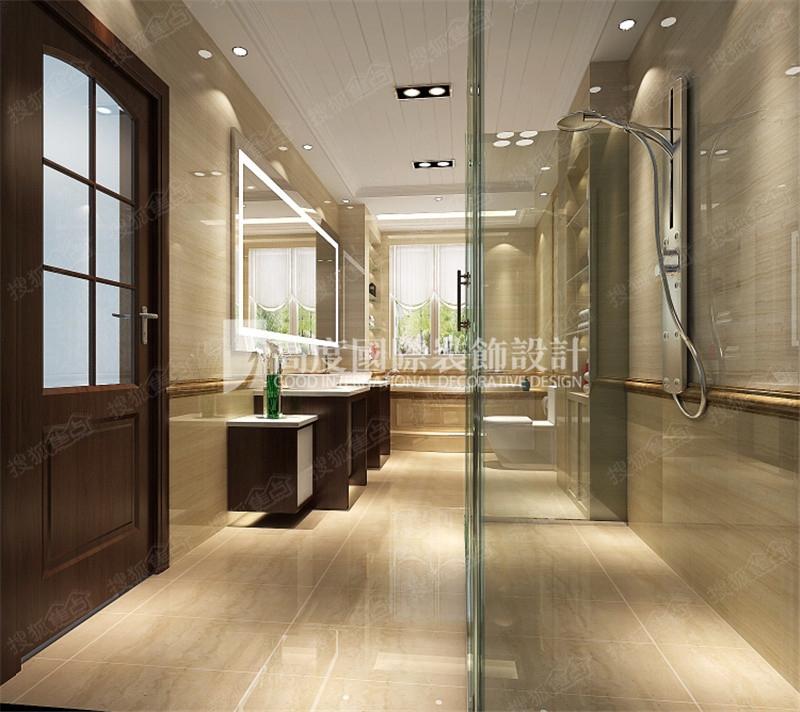 大运河孔雀城 240平四居室东南亚风格联排别墅设计效果图设计案例高清图片