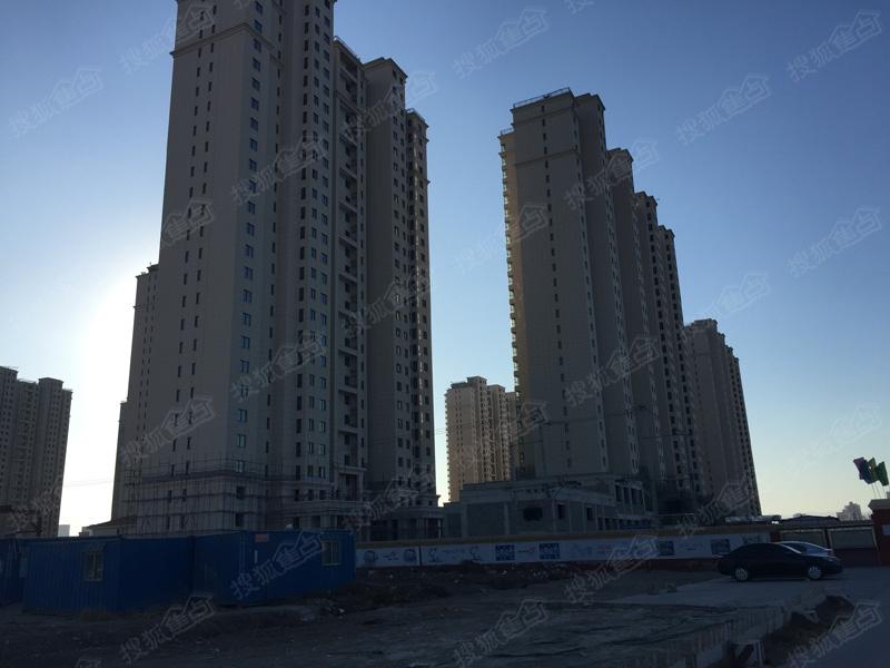 万泉寺住宅小区施工进度图-楼座(2015年1月21日讯)