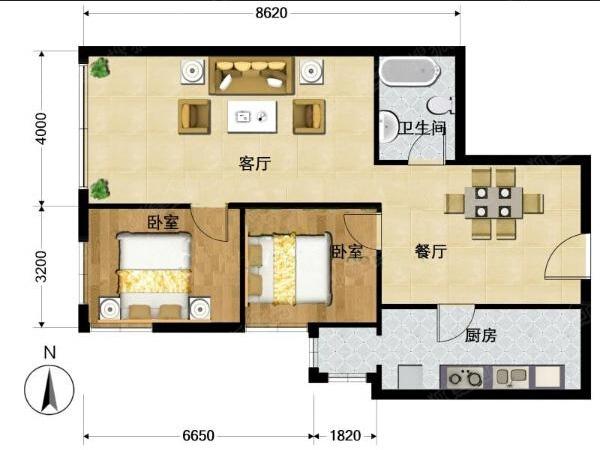 京铁家园户型图