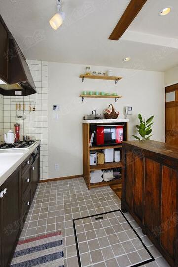 厨房装修设计图 小空间也能大利用