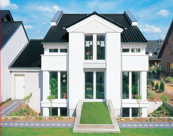 新中式风格的建筑——新中式别墅图片