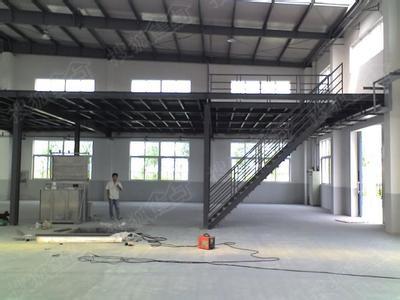 厂房仓库制作搭建钢结构二层货架平台