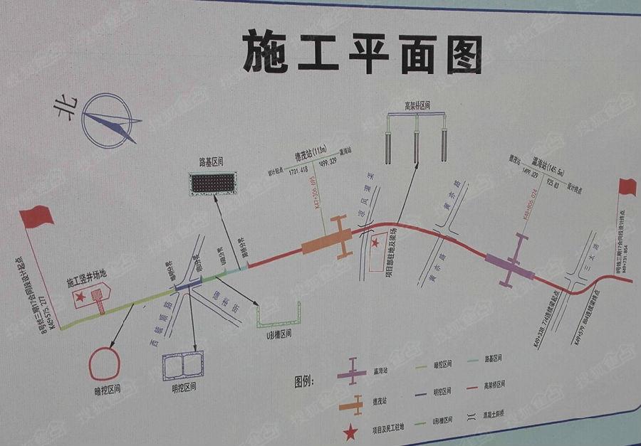 8号线一期为森林公园南门站至北土城站的奥运支线图片
