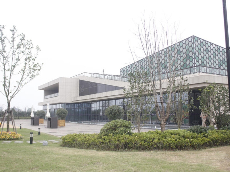 合悦江南实景图 售楼处外景高清图片