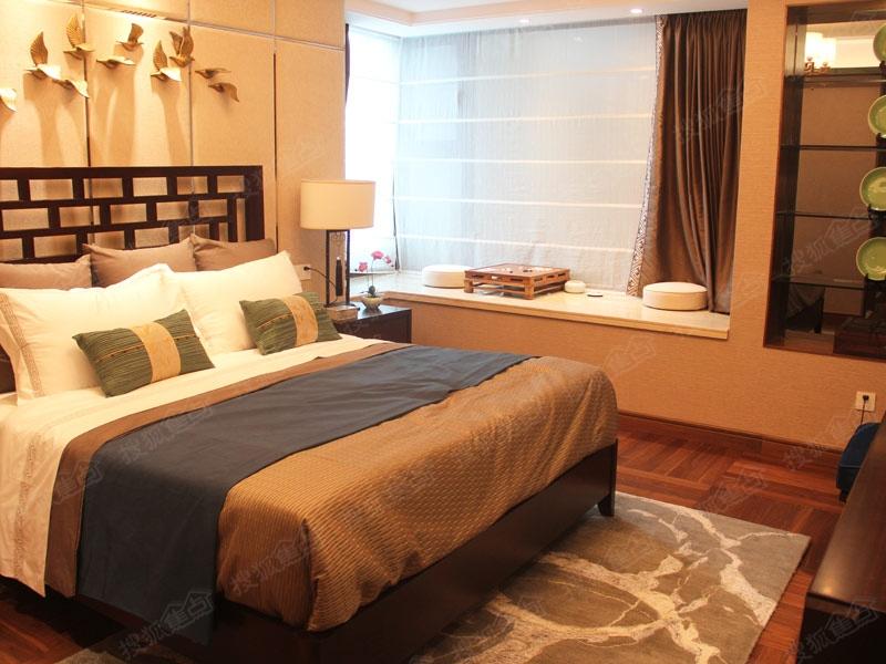 名悦山庄d户型样板间—卧室