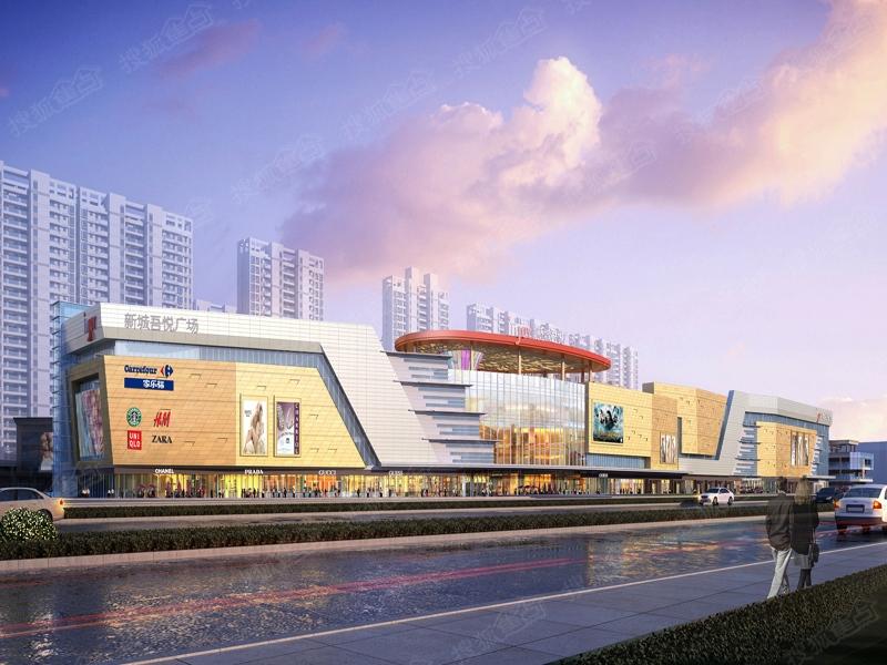 海口·新城吾悦广场商业综合体均价8000元/平图片
