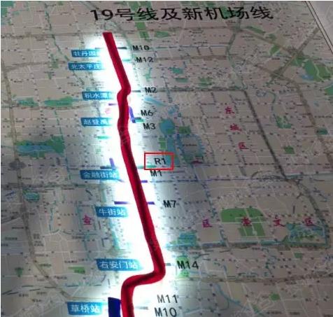 北京地铁2021年规划曝光 香河无缘通地铁图片