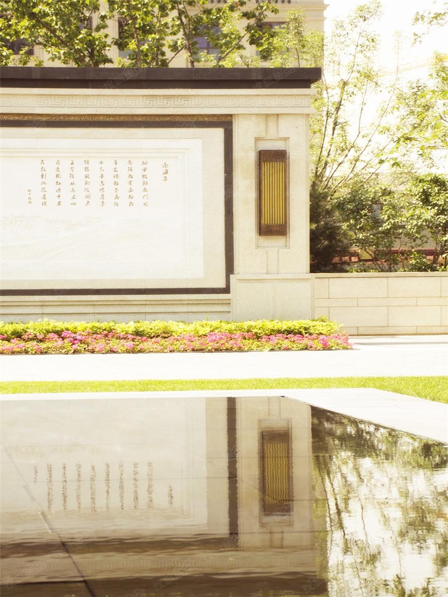 棠颂别墅示范区实景图