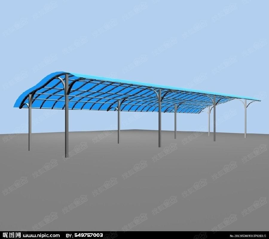 雨棚,遮阳棚安装工程,其钢结构车棚,别墅停车棚,车棚制作,钢结构雨棚