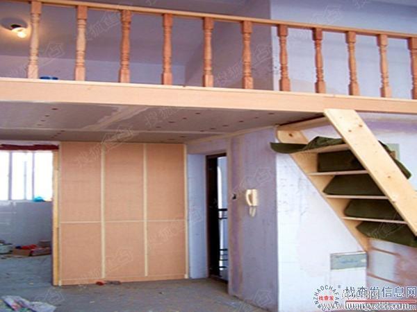 石家庄钢结构阁楼制作专业商铺店面楼梯隔层二层搭建