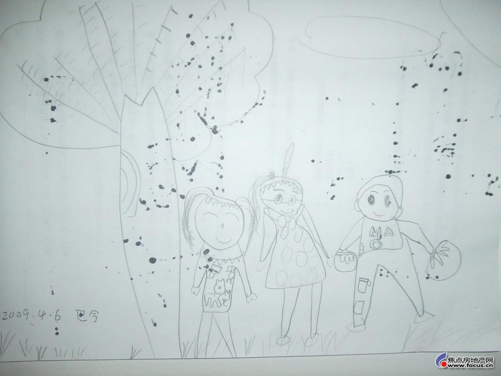 笑脸 亲子绘画大赛 儿童漫画 焦点分赛区征稿启事,优秀作品