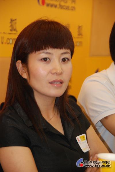 天鹅湖项目总经理王玉玲回答焦点网友问题