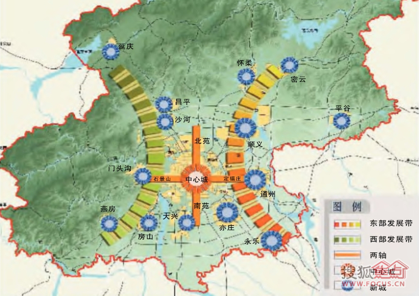 未来的限价房(北京规划的未来11个新城)    近日有报道展示了北京城市
