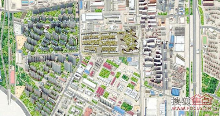 上林溪及安宁庄地区三维地图