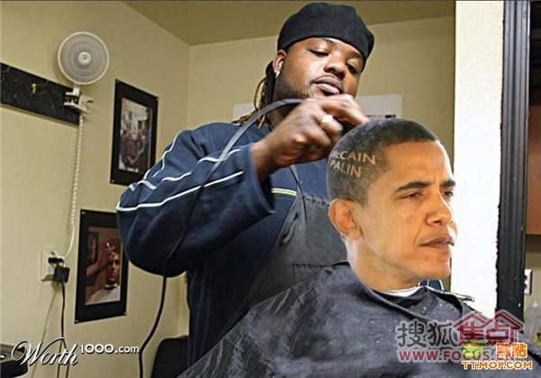 国外PS恶搞的奥巴马