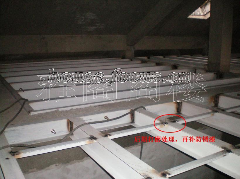 图:阁楼,钢结构施工解析