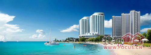 五星级海滩花园大酒店综合大配套,实现社区私享化 -大地顾问文集