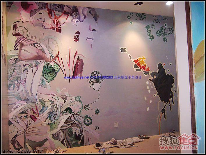 手绘墙画 (10)