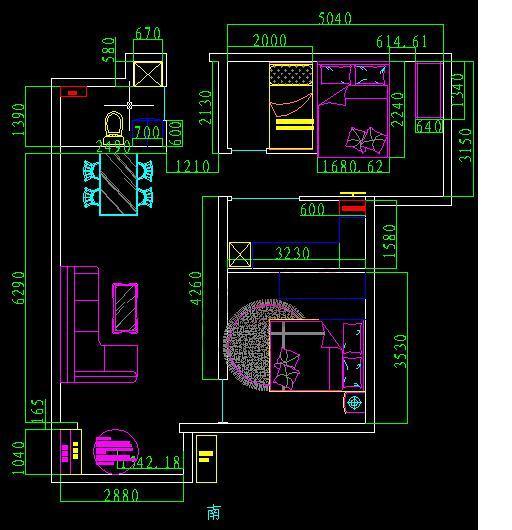 卧室桌子款式设计图