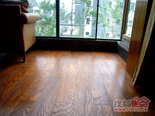 图:迪克实木地板各种风格铺贴后效果
